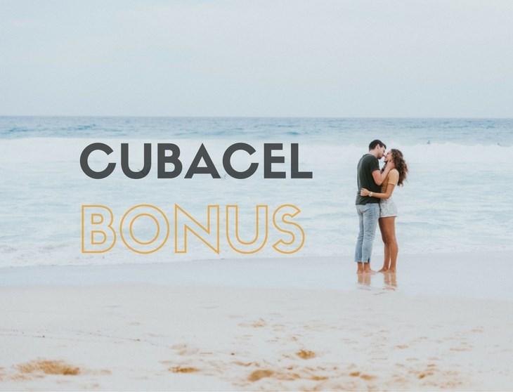 Cubacel Bonus Aktion